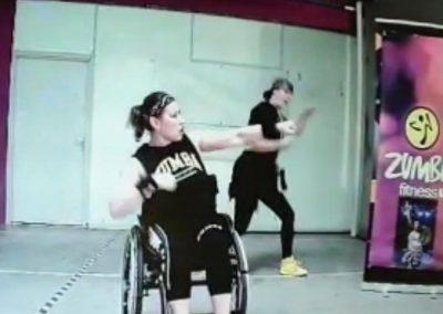 Mijn eerste poging Zumba vanuit de rolstoel